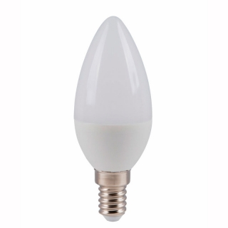 Лампа светодиодная LUMEN LED Свеча 5W 220V 4100K E14 матовая