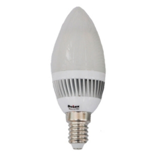 Лампа светодиодная DELUX LED BLC37A-27 3.2W E14 свеча матовая