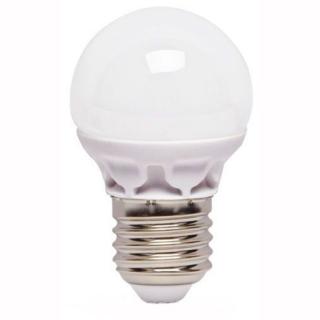 Лампа светодиодная LUMEN LED G45 5W 220V 4100K E27 матовая