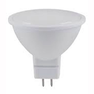 Лампа светодиодная LUMEN LED JCDR MR16 5W 15LED 220V 4100K G5.3 матовая алюминий