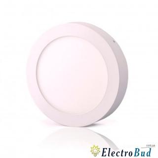 Светильник LED-SR-120-6 6W 6400К накладной круглый
