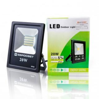 Прожектор светодиодный EVRO LIGHT EV-20-01 6400K SMD
