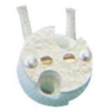 Держатель DELUX CS-103 G4-G6.35 (12 см) керамический
