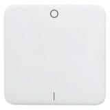 """Клавиша Hager-Polo REGINA для 2- и 3-полюсных выключателей со знаками """"0"""" и """"1"""" белая"""