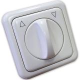 Клавиша Hager-Polo REGINA для выключателя поворотного для жалюзей белая