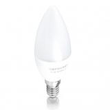 Лампа светодиодная Евросвет свеча С-6-3000-14 6W 170-240V
