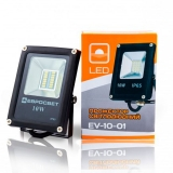 Прожектор светодиодный EVRO LIGHT EV-10-01 6400K SMD