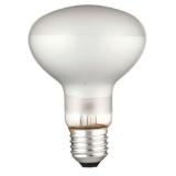 Лампа энергосберегающая DELUX R80 60Вт Е27 матовая