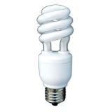 Лампа энергосберегающая DELUX Slim Semi-Spiral 13W 6400K Е14