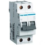 Выключатель автоматический Hager In=25 А 2п С 6 kA 2м