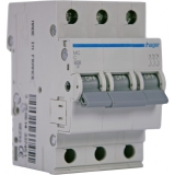 Выключатель автоматический Hager In=25 А 3п В 6 kA 3м